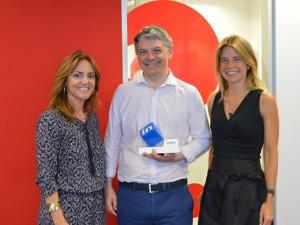 Securitas Direct obtiene el galardón a la 'Transformación' en la captación de talento de los Premios IN 2015 de LinkedIn