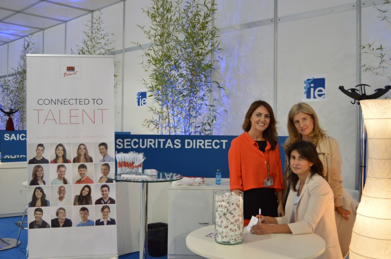 Securitas direct participa en el foro de empleo del instituto de empresa - Oficinas securitas direct ...