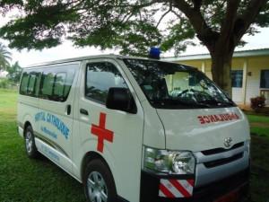 Securitas Direct contribuye en la adquisición de una ambulancia para el hospital de Monavebe